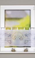Vitrážková záclona 52821 FISCIO