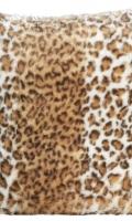 Kožušinový vankúšik 98948 Snow Leopard