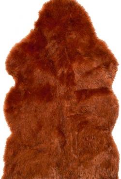 Kožušinový koberec 99026 Sunset Wolf