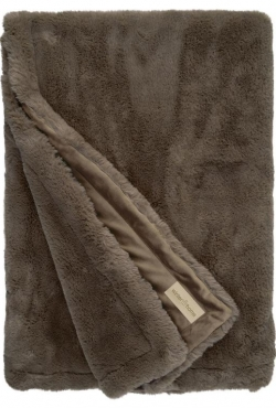 Kožušinová deka 98985 Guanaco smoke