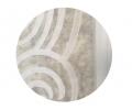 1007 vlnená biela lupa